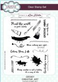 Creative Expressions - Creative Art A5 Clear Stamp Set - CEC821